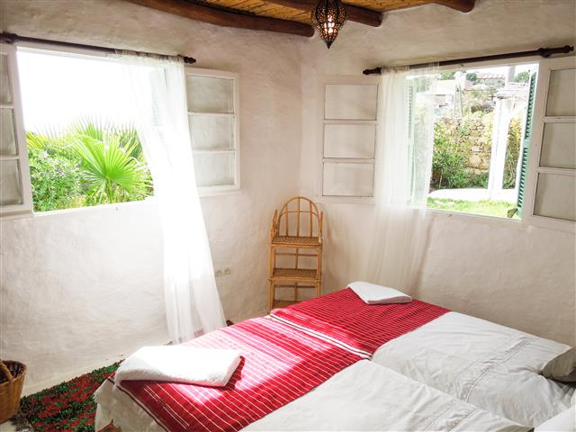 Twin Bedrooms - Khanfous Retreat - Holiday Rental - Asilah Morocco (3) (Small)