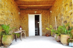 Patio & House Entrance - Khanfous Retreat - Holiday Rental - Asilah Morocco (Small)