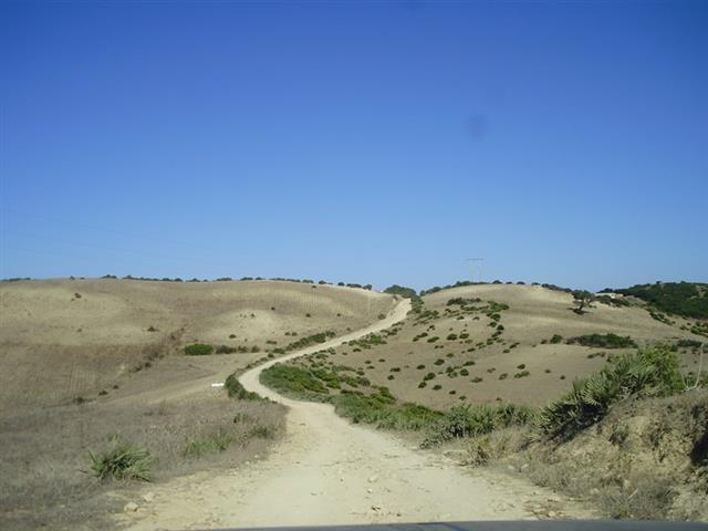 Road to Khanfous Retreat - Bni Meslem, Asilah, Morocco